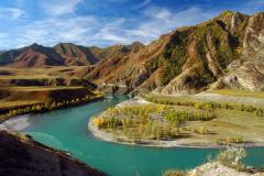 базы отдыха горный Алтай