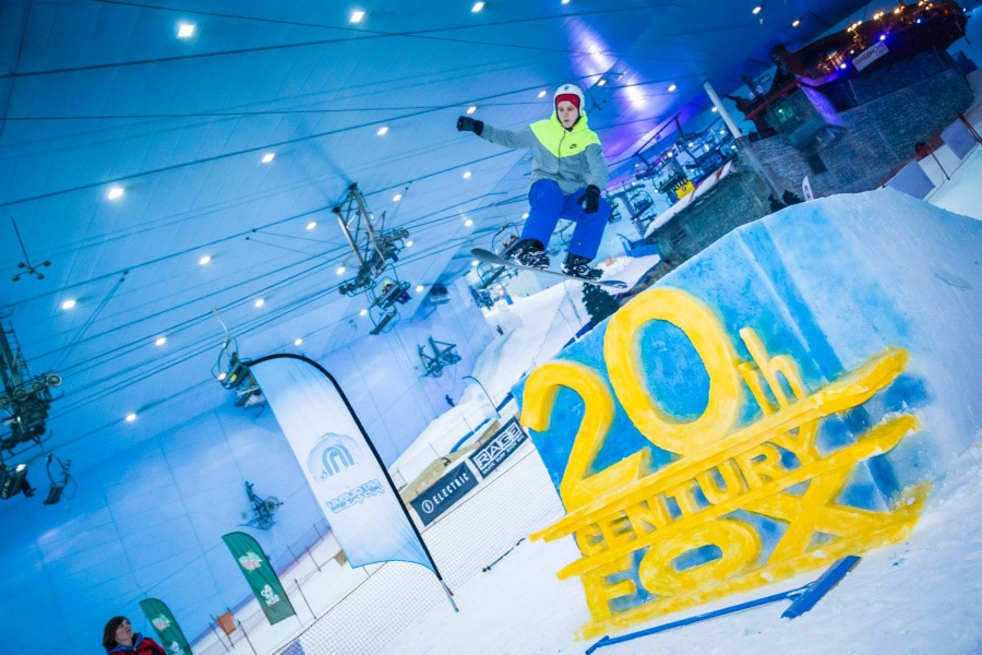 горнолыжный центр в Дубае