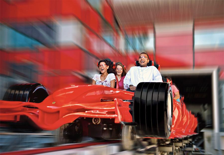парк развлечений в Абу-Даби
