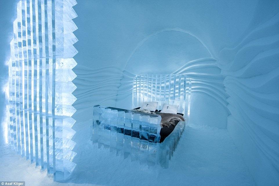 Ледяной отель Jukkasjäroi