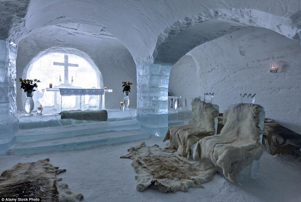 Отель Sorrisniva Igloo