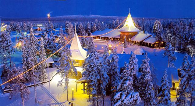отдых на Новый год в Финляндии