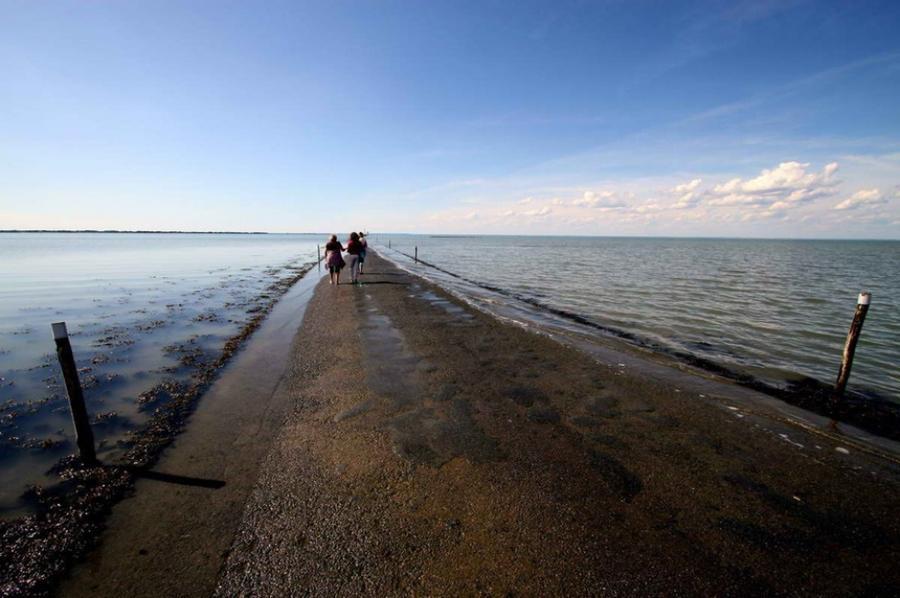 дорога к острову Нуармутье