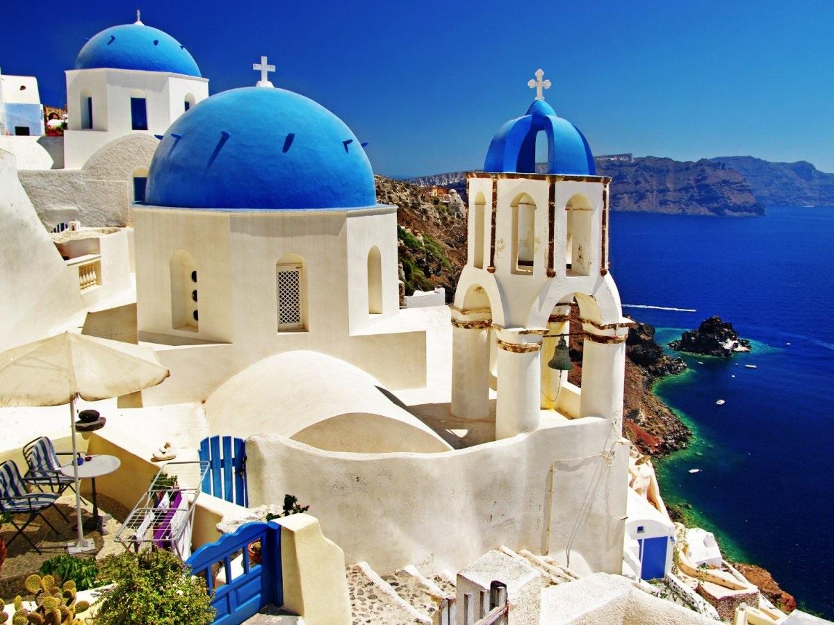Остров Санторини (Греция)