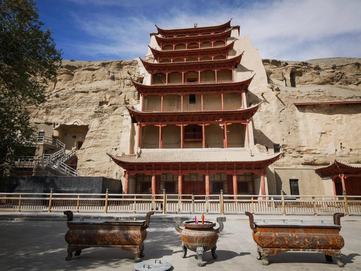 Пещеры Могао (Китай)