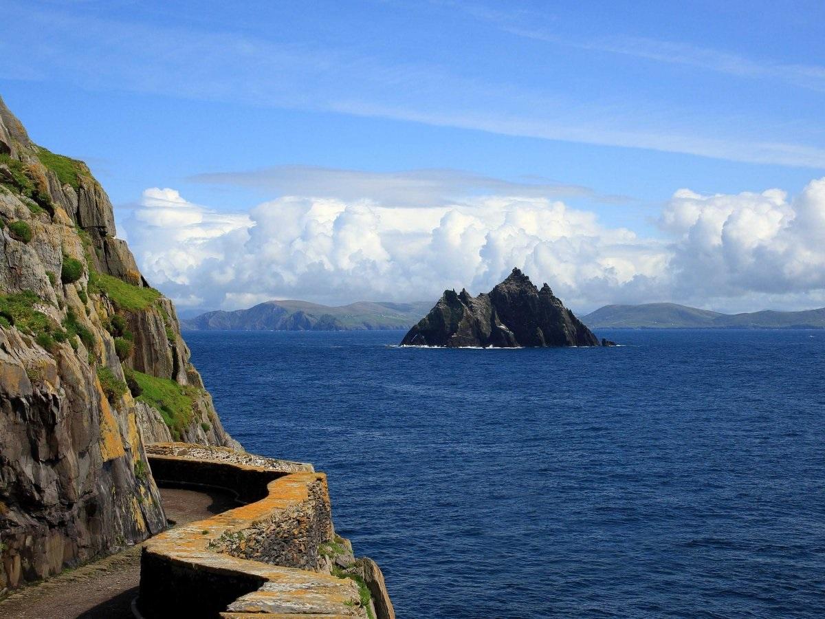 Остров Скеллиг-Майкл (Ирландия)