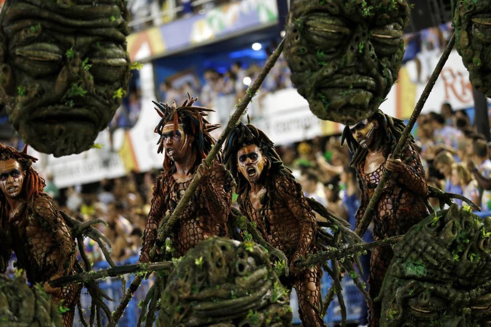 карнавал в Рио 2015