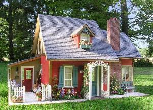 кисть для покраски деревянного дома