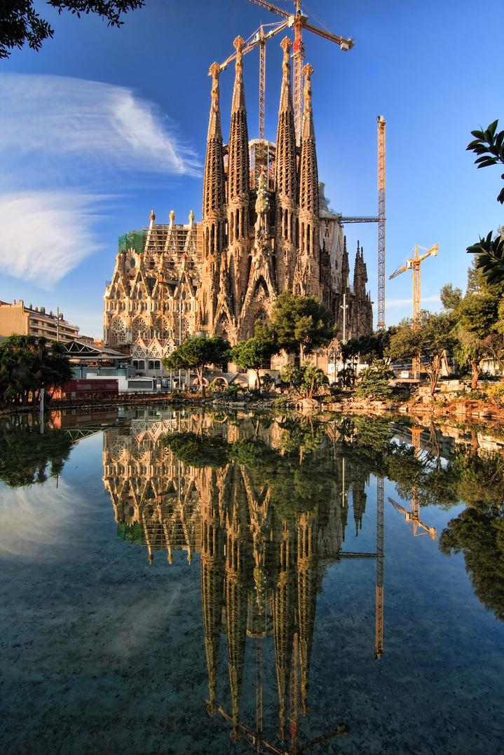 Sagrada Familia - собор Святого Семейства