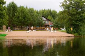 База отдыха на берегу Селигера